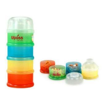Hộp đựng sữa 4 ngăn không BPA Upass (Đài Loan) UP8003C