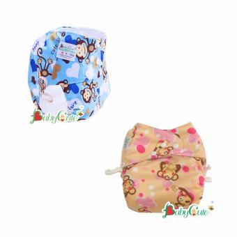 Combo 2 bộ tã vải ngày BabyCute size M (8-16kg)