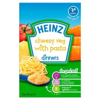 Bột ăn dặm Heinz dinner vị mỳ ý rau củ phomai cho bé 7m+ 100g(Natural)
