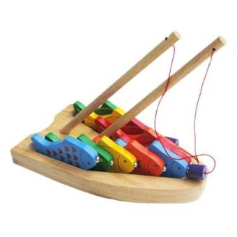 Đồ chơi gỗ bộ câu 10 cá số Winwintoys 60362