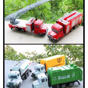 Xetải thang cứu hỏa (màu đỏ);