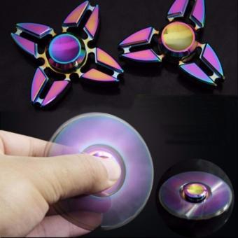 Con Quay đa sắc mầu bằng kim loại không ma sát xả stress -Fidget Spinner