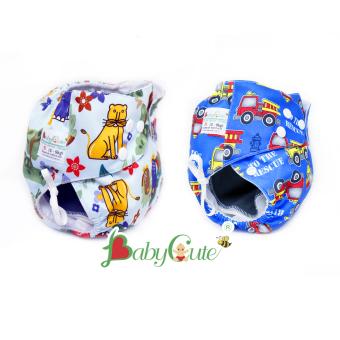 Bộ 2 tã vải Đêm BabyCute cho bé size S (3-9kg)