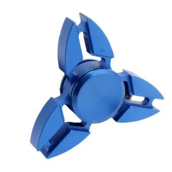 Con quay 3 cánh Fidget Spinner Sakura cao cấp xả stress màu xanh ( Hàng chất lượng loại 1)