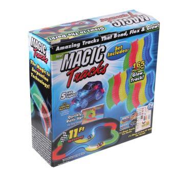 (Sunnyshine) Bộ lắp ghép đường đua ô tô Magic Tracks 165pcs