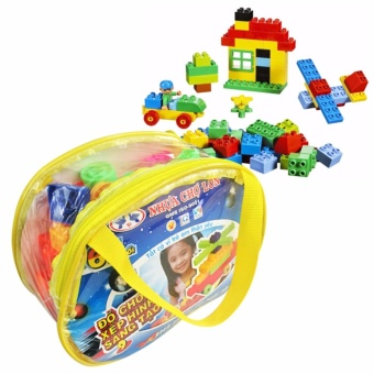 Bộ xếp hình 3D LEGO 67 KHỐI SÁNG TẠO CHO BÉ