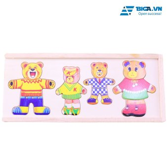 Bộ Đồ Chơi Thời Trang Gấu Cho Bé Dream Toy USA 2653