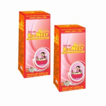 Bộ 2 chai Siro Yến sào Kids Nest 120ml ( Đỏ )