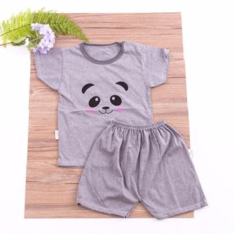 Combo 05 bộ quần áo cộc tay cotton cho bé yêu Chipxinhxk
