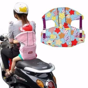 Đai đi xe máy có đỡ cổ an toàn cho bé yêu