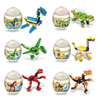 Vakind Assembly Dinosaur Models Kids Developmental Puzzel Eggs Toys - intl