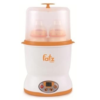 Máy hâm sữa điện tử đa năng 2 bình cổ rộng Fatzbaby FB3018SL