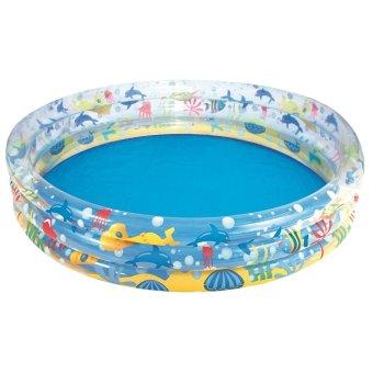 Bể bơi 3 tầng hình động vật biển Bestway