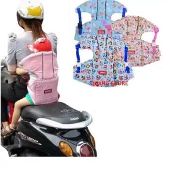 Đai xe máy cho bé có đỡ cổ an toàn