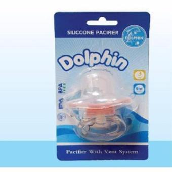 Ti ngậm núm silicone cho bé Dolphin(Trung tính)