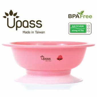 Bát ăn dặm 3 giai đoạn không BPA có đế hút chân không chống đổ, dùng được trong lò vi sóng UP5024YX