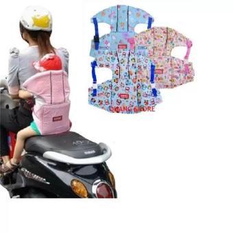 Đai xe máy có đỡ cổ an toàn cho bé