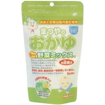 Bột ăn dặm gạo rau củ hỗn hợp cho bé từ 5m Matsuya Nhật Bản 00234 80g