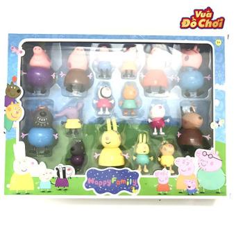 Bộ đồ chơi Peppa Pig 16 nhân vật