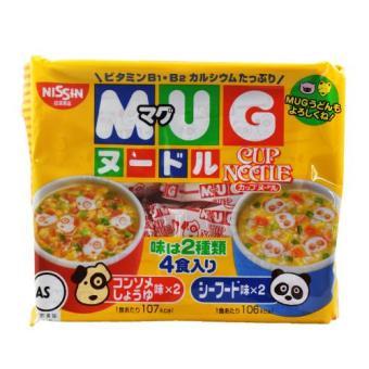 Mì ăn liền Mug Nissin Nhật Bản 94g cho bé 01068