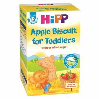 Bánh bích quy táo tây HiPP Organic (1-3 tuổi)