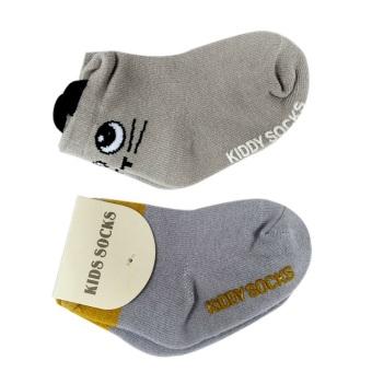 Bộ 2 đôi Tất Kiddy Socks cho bé yêu từ 6 tháng - 3 tuổi