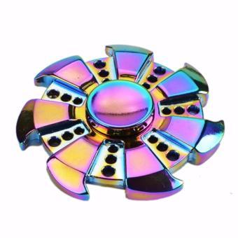 Con Quay đa sắc mầu bằng kim loại Fidget Spinner không ma sát xả stress VH5