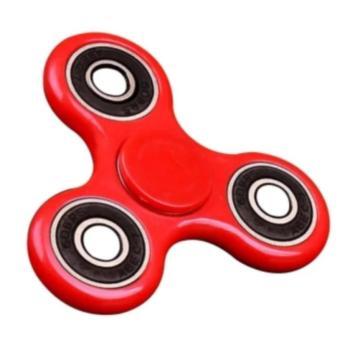 Đồ Chơi Con Quay Giúp Xả Stress Fidget Spinner (đỏ)