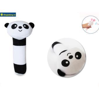 Thú bông có tiếng kêu cho bé hình gấu trúc panda