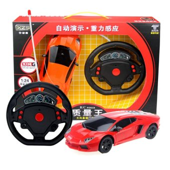 Xe ô tô mô hình 1:24 Lamborghini điều khiển từ xa