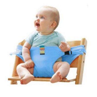 Đai ghế ngồi cho bé HQ206115-4 (xanh)