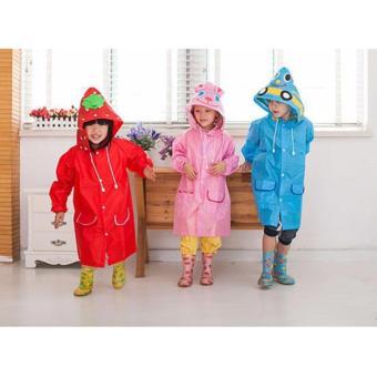 Áo mưa hình con vật ngộ nghĩnh cho bé yêu