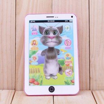 Máy tính bảng Mèo Tom biết nói thông minh (Hồng)