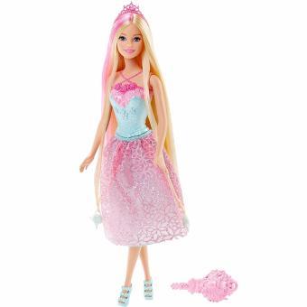 Búp bê Barbie Công chúa Endless Hair Kingdom Pink(Hồng)