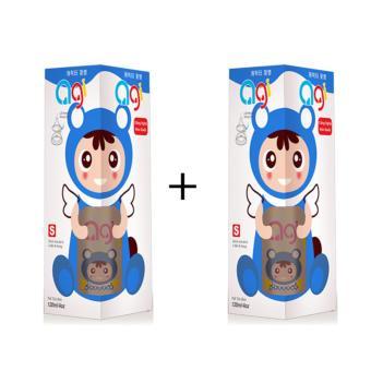 Bộ 2 Bình Sữa Agi Cổ Thường 120ml