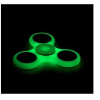 Đồ Chơi Giúp Xả Stress Fidget Spinner DẠ QUANG loại 1 cực bền