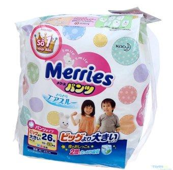 Tã quần Merries XXL26 (15-28kg)