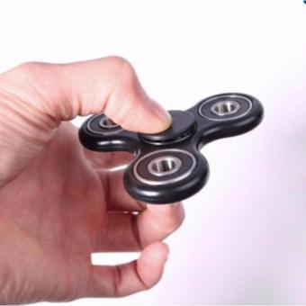 Đồ Chơi Con Quay Cao Cấp Giúp Xả Stress Fidget Spinner ( Màu đen)