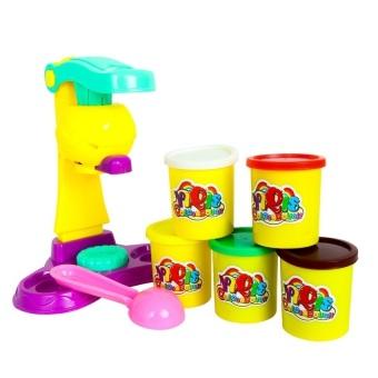 Bộ đất nặn làm kem Kid's Shop Mishop (Đỏ)