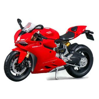 Xe Mô Hình Mô Tô - Siêu Xe Ducati 1199 Panigale huyền thoại - Maisto - Tỉ lệ 1/12 -
