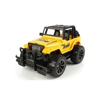 Xe mô hình điều khiển từ xa Jeep địa hình (Vàng)