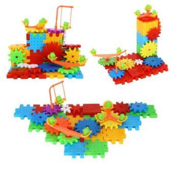 Bộ đồ chơi lắp ghép hình 3D phát triển trí thông minh cho bé (FUNNY BRICKS)