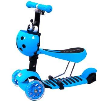 Xe trượt Scooter 3 trong 1 (Xanh)