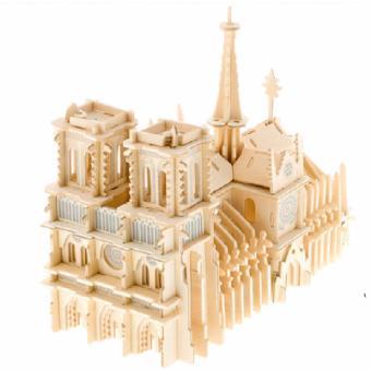 Bộ xếp hình 3D mô hình nhà thờ Đức Bà