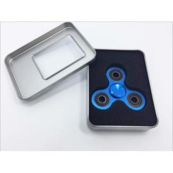 Con quay 3 cánh Fidget Spinner cao cấp xả stress màu xanh ( Hàng chất lượng loại 1)