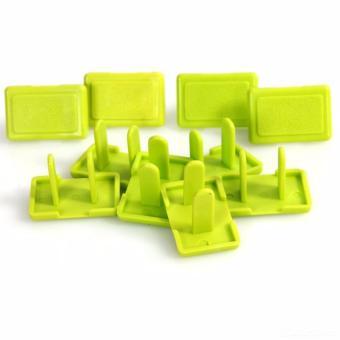 Combo 10 dụng cụ bịt ổ điện vuông an toàn cho trẻ nhỏ