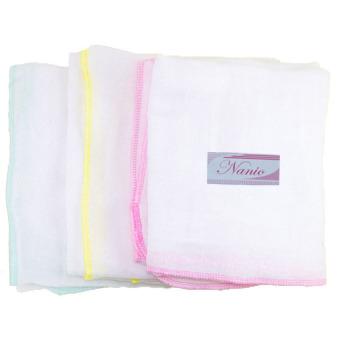 Bộ 3 bịch khăn tắm gạc 3 lớp (70x75) Nanio A0099