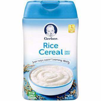 Bột ăn dặm gerber rice cereal 227g
