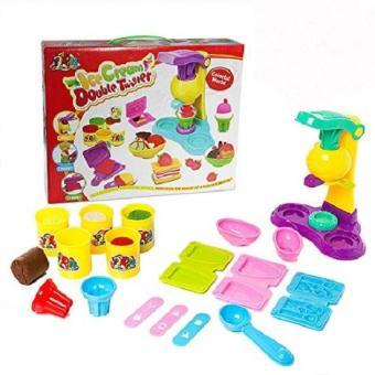 Bộ đồ chơi bột nặn cho các bé thỏa sức sáng tạo (làm kem và bánh kẹo)