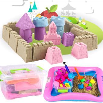Bộ đồ chơi cát nặn vi sinh 5+ cho bé thỏa sức sáng tạo An Store